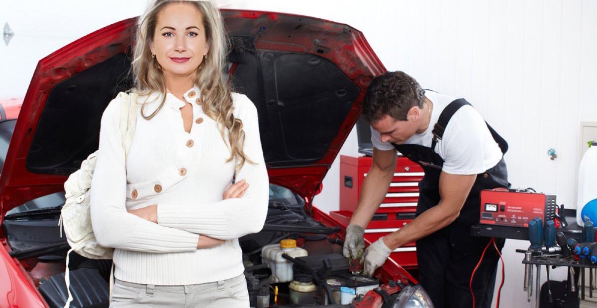 Сотрудники автосервиса Transmission Service Group - Учредитель Эльмира Эдуардовна