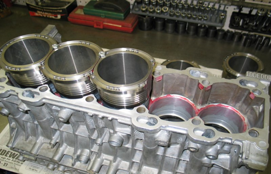 Гильзование блока двигателя - Ремонт АКПП в Москве в TSG