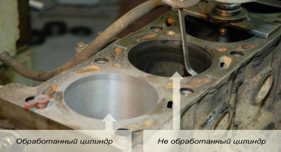 Расточка блока цилиндров - Головка перед расточкой - Ремонт АКПП в Москве в TSG