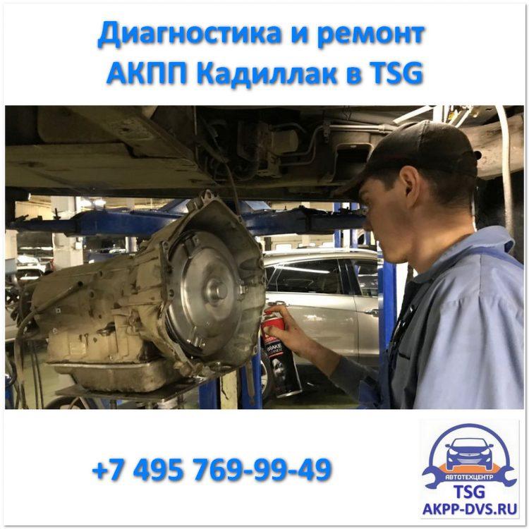 Диагностика и ремонт АКПП Кадиллак - Агрегат - Ремонт АКПП в Москве - AKPP-DVS.RU
