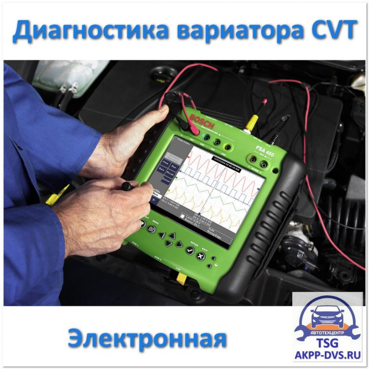 Диагностика вариатора CVT - Электронная - Ремонт АКПП в Москве - AKPP-DVS.RU